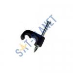 Black Mini 10mm Shotgun Cable Clips