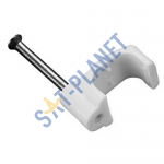 Cable Clips White 13mm