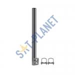 400x50mm Balcony Bracket - Galvanised Steel