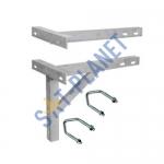 """610mm (24"""") T & K Wall Bracket - Galvanised Steel"""